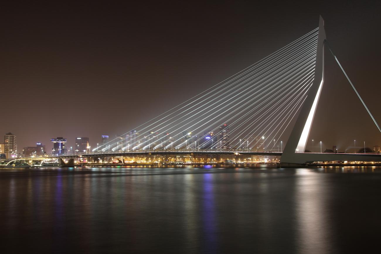 Erasmusbruecke Rotterdam NL 0104
